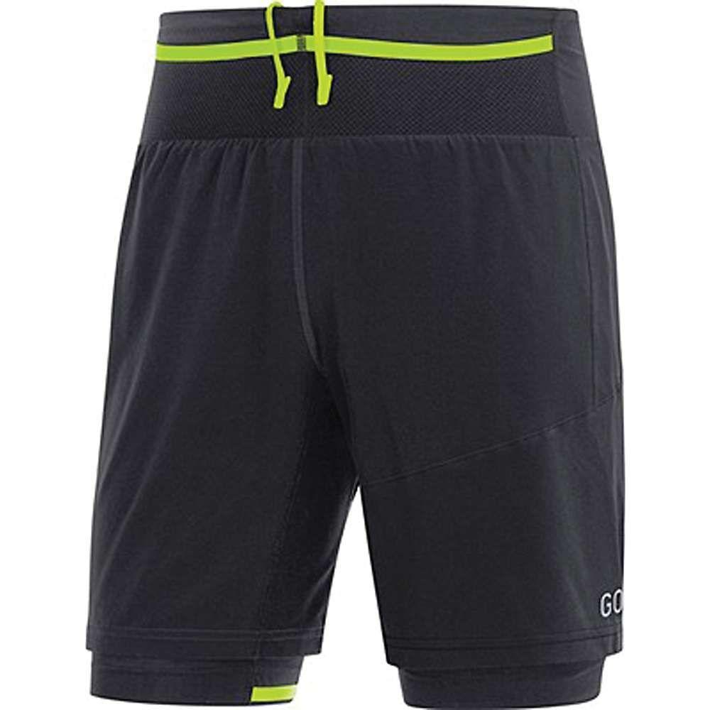 ゴアウェア Gore Wear メンズ ランニング・ウォーキング ボトムス・パンツ【Gore R7 2IN1 Short】Black