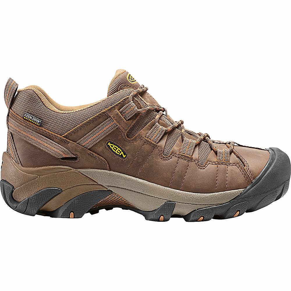 キーン メンズ ハイキング シューズ・靴【Keen Targhee II Waterproof Shoe】Cascade Brown / Brown Sugar