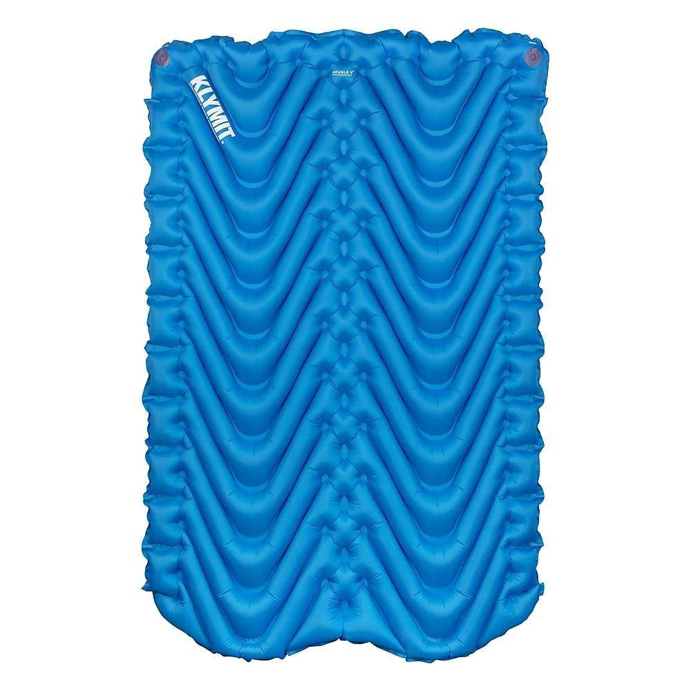 クライミット Klymit ユニセックス ハイキング・登山【Double V Sleeping Pad】Blue/Char Black