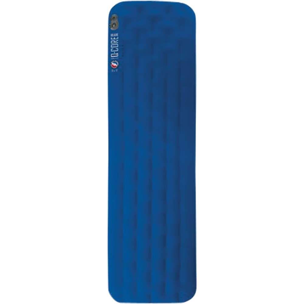 ビッグアグネス Big Agnes ユニセックス ハイキング・登山【Q-Core Deluxe Sleeping Pad】Blue