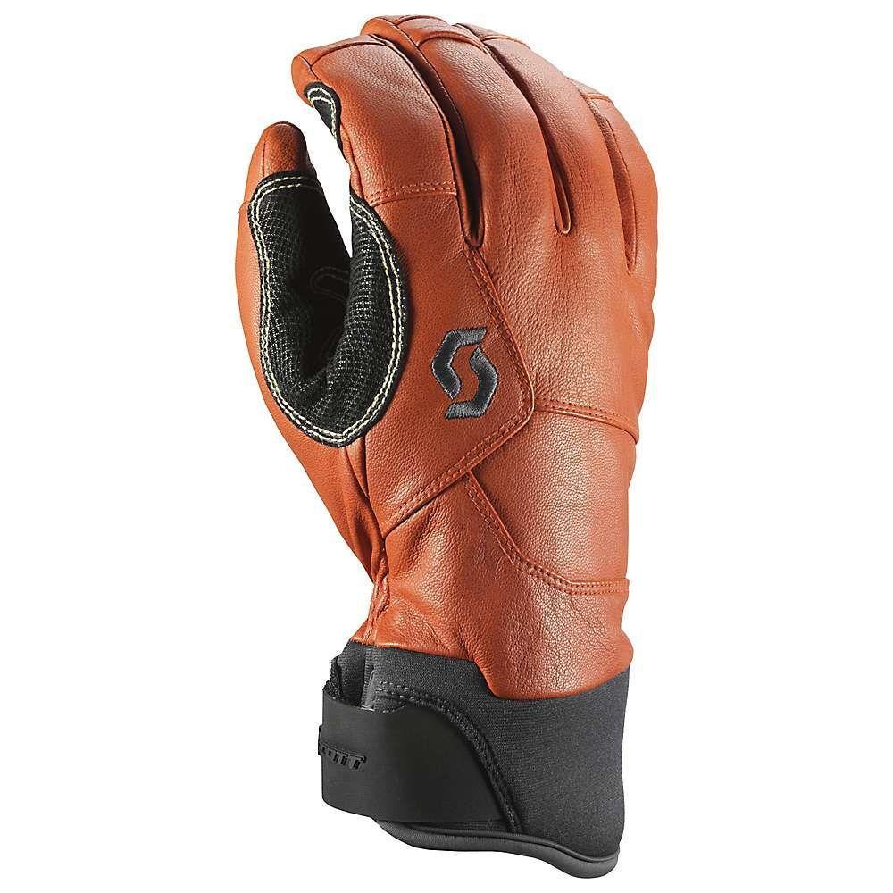 スコット Scott USA ユニセックス スキー・スノーボード グローブ【Explorair Premium GTX Glove】Dark Grey/Burnt Orange