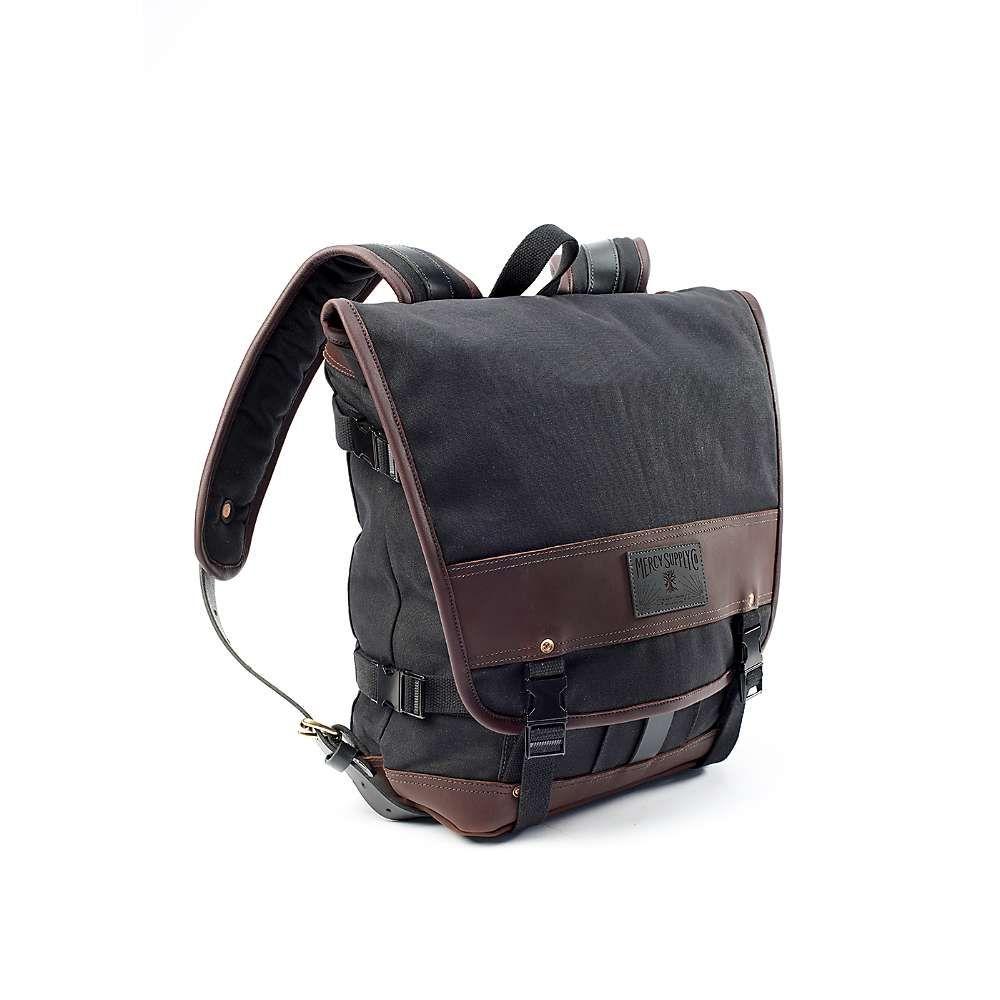 マーシー Mercy Supply ユニセックス バッグ ショルダーバッグ【Traveler's Pack】Black/Brown