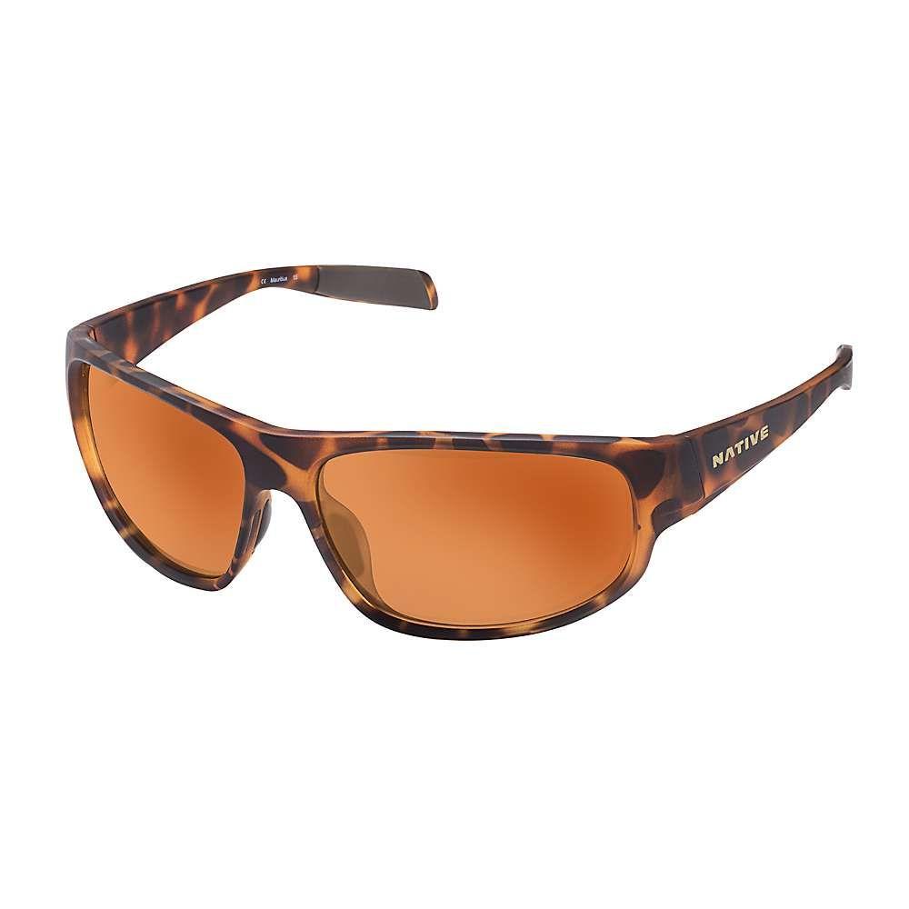 ネイティブ ユニセックス ファッション小物 メガネ・サングラス Desert Tort/Brown Polarized 【サイズ交換無料】 ネイティブ Native ユニセックス メガネ・サングラス【Crestone Polarized Sunglasses】Desert Tort/Brown Polarized