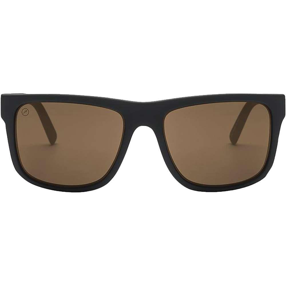 エレクトリック Electric ユニセックス メガネ・サングラス【Swingarm XL Polarized Sunglasses】Matte Black/Ohm Polarized Bronze