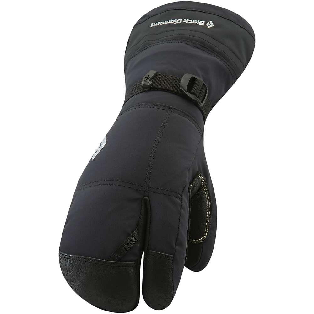 ブラックダイヤモンド Black Diamond メンズ クライミング グローブ【Soloist Finger Glove】Black