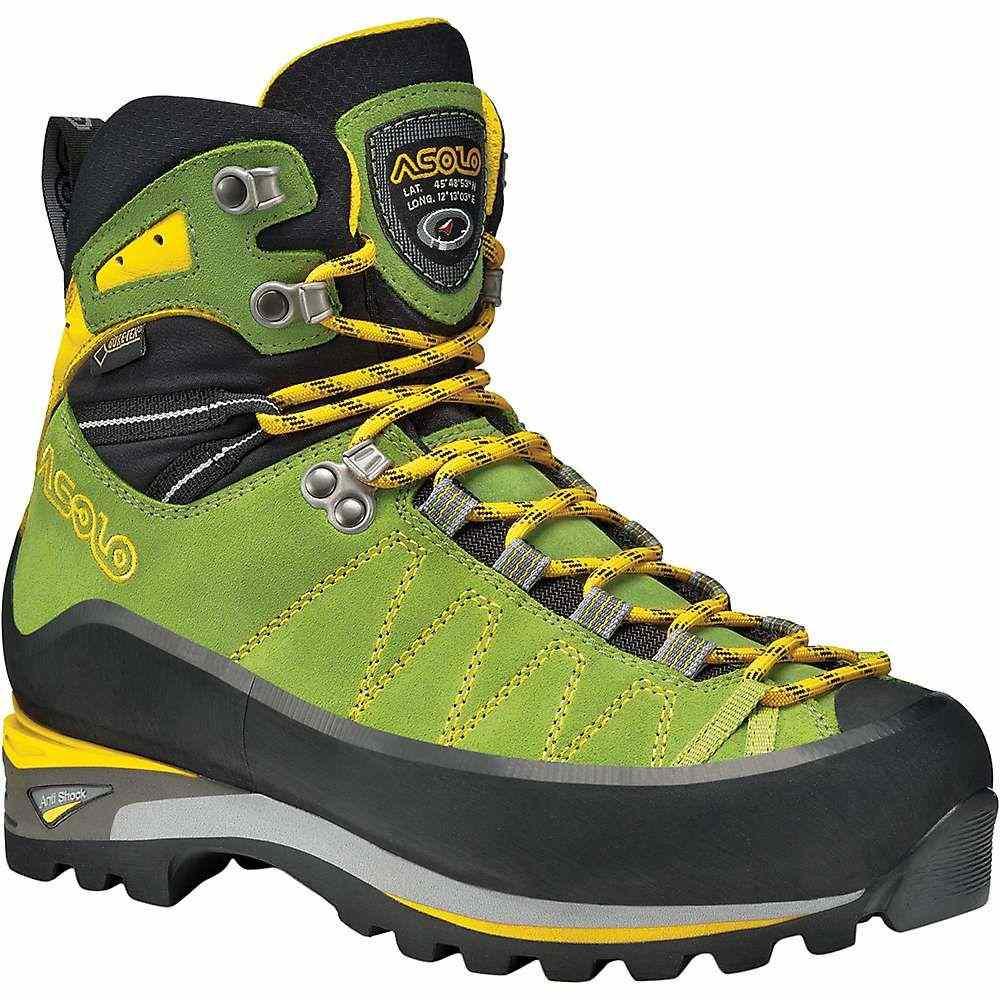 アゾロ Asolo レディース ハイキング・登山 ブーツ シューズ・靴【Elbrus Boot】Lime/Mimosa