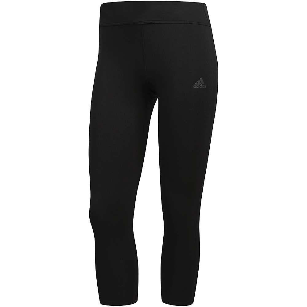 アディダス Adidas レディース ヨガ・ピラティス スパッツ・レギンス ボトムス・パンツ【Response 3/4 Tight】Black/Black