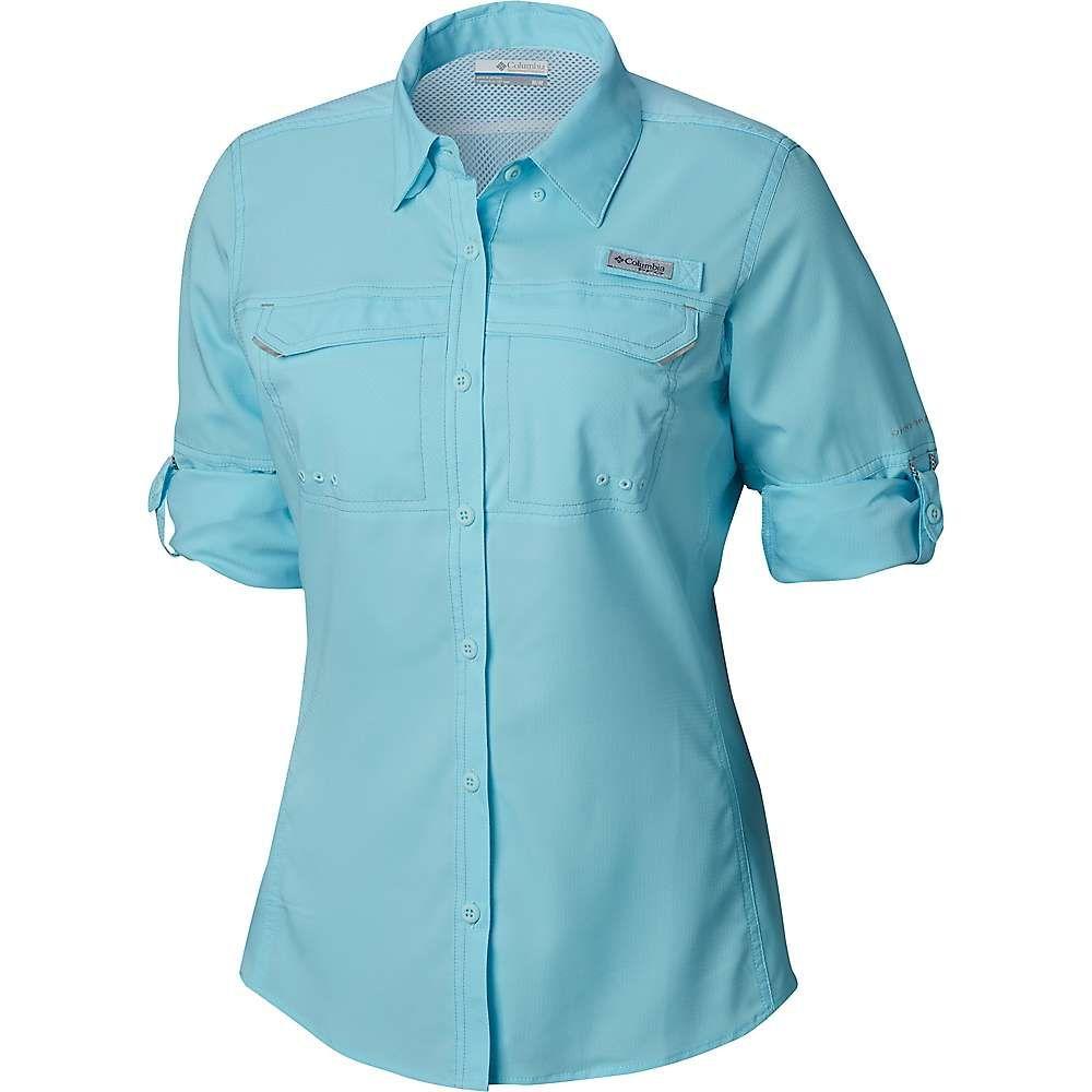コロンビア Columbia レディース ハイキング・登山 シャツ トップス【Lo Drag LS Shirt】Coastal Blue