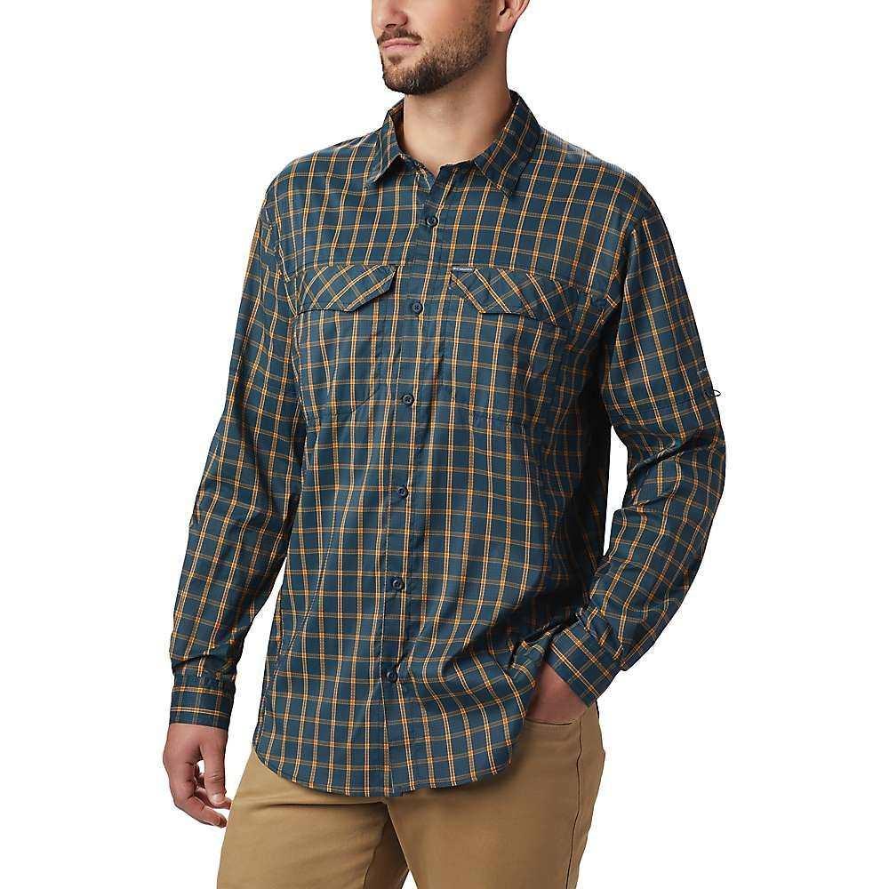 コロンビア Columbia メンズ ハイキング・登山 シャツ トップス【Silver Ridge Lite Plaid Long Sleeve Shirt】Night Shadow Small Plaid