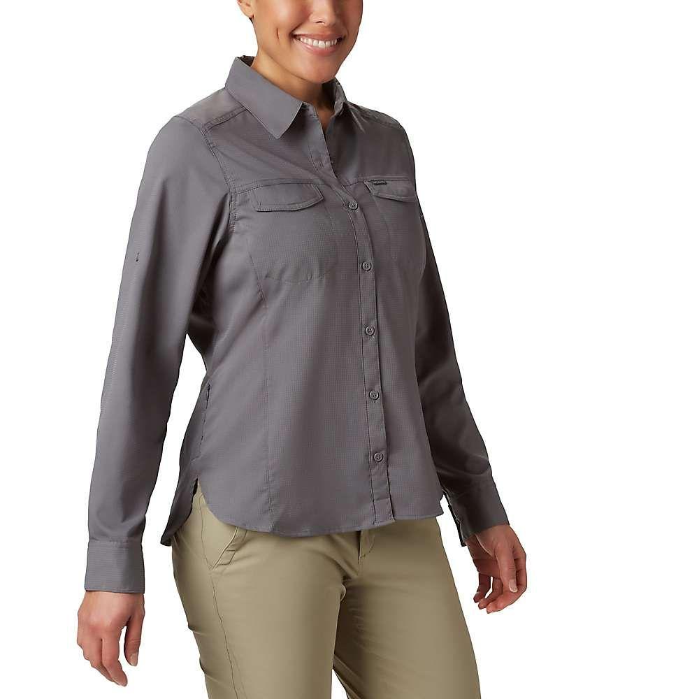 コロンビア Columbia レディース ハイキング・登山 シャツ トップス【Silver Ridge Lite Long Sleeve Shirt】City Grey