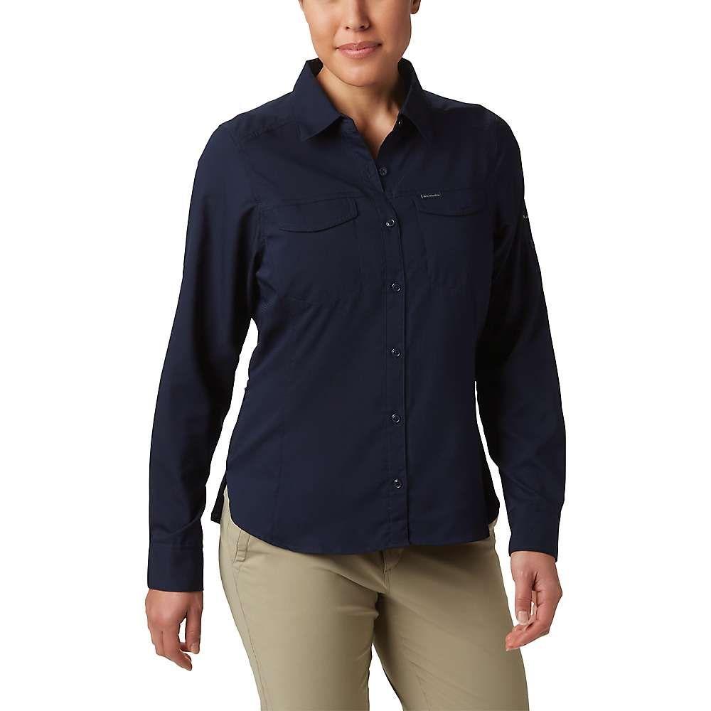 コロンビア Columbia レディース ハイキング・登山 シャツ トップス【Silver Ridge Lite Long Sleeve Shirt】Dark Nocturnal