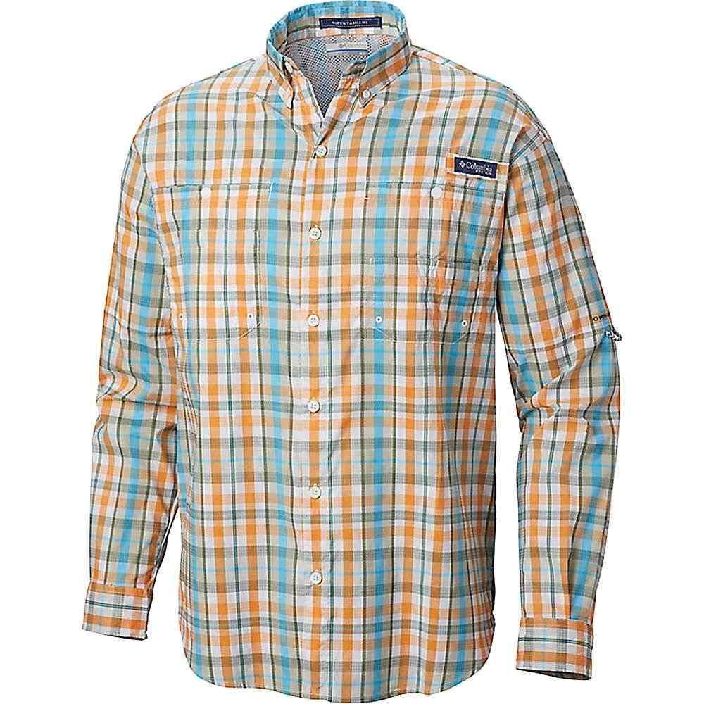 コロンビア Columbia メンズ ハイキング・登山 シャツ トップス【Super Tamiami LS Shirt】Koi Multi Plaid