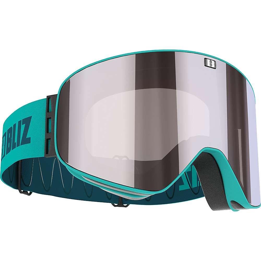 ブリッツ Bliz ユニセックス スキー・スノーボード ゴーグル【Flow Goggle】Matte Turquoise/Brown/Silver Mirror