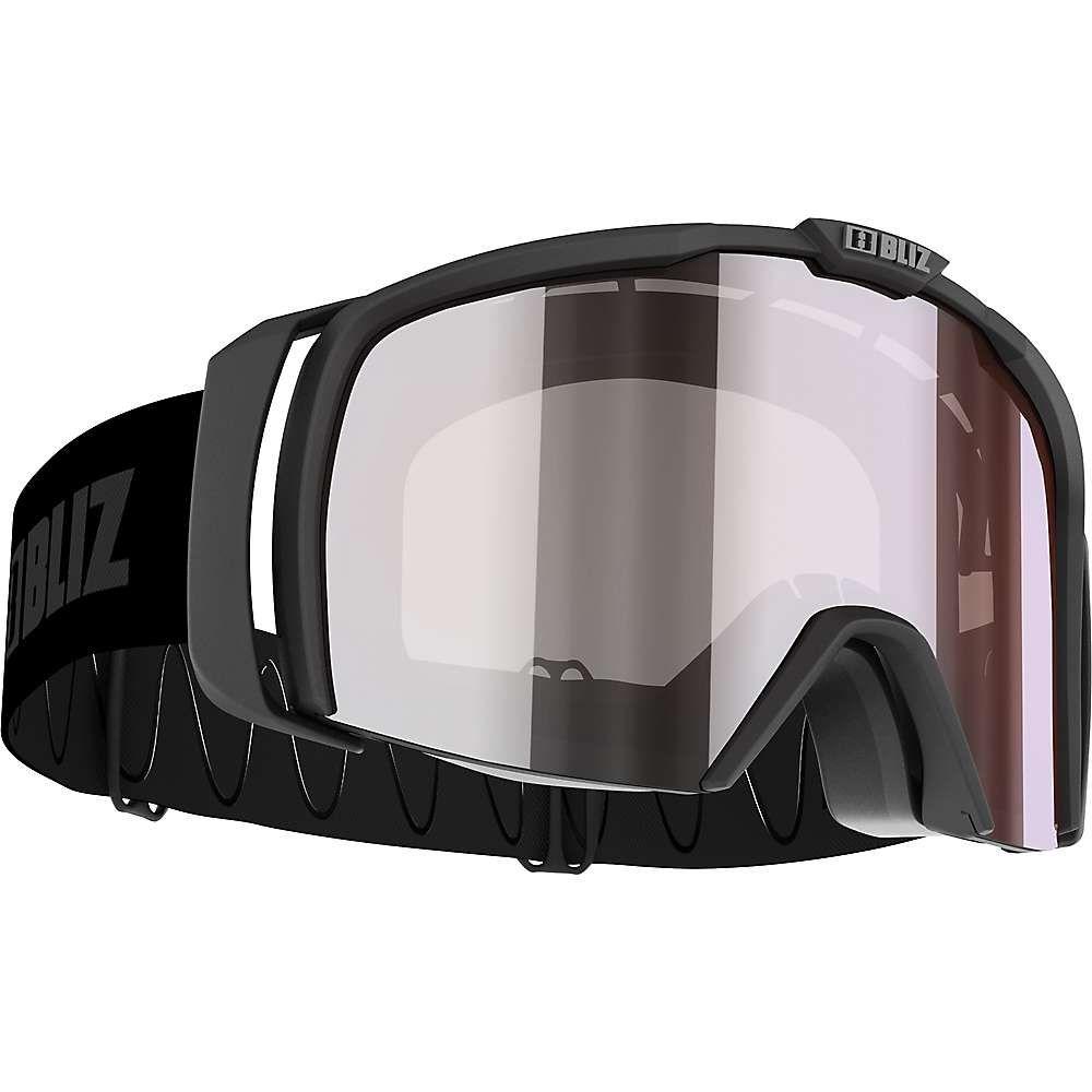 ブリッツ Bliz ユニセックス スキー・スノーボード ゴーグル【Nova Goggle】Matte Black/Orange/Silver Mirror