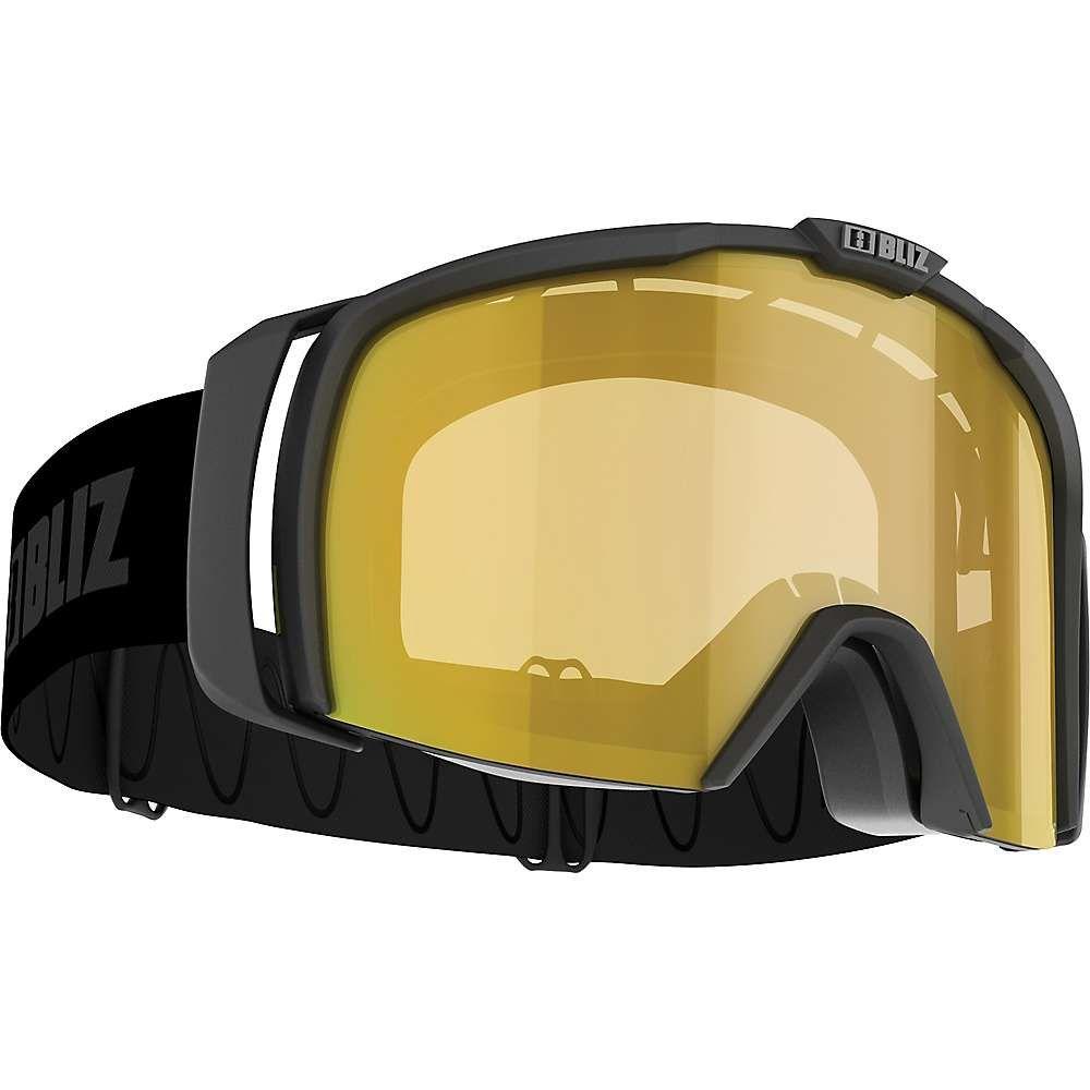 ブリッツ Bliz ユニセックス スキー・スノーボード ゴーグル【Nova USL Photochromatic Goggle】Matte Black/Brown/Gold Multi