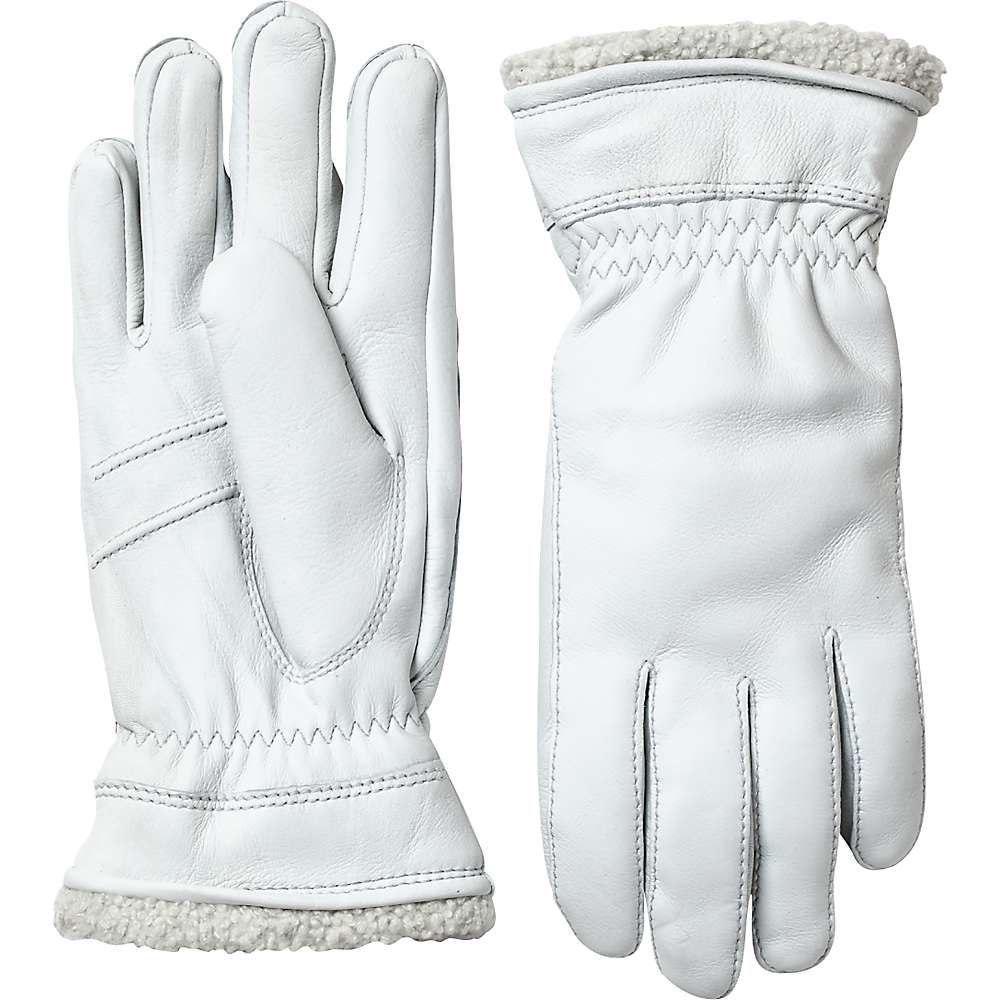 ヘスタ Hestra レディース スキー・スノーボード グローブ【Deerskin Primaloft Glove】Off White