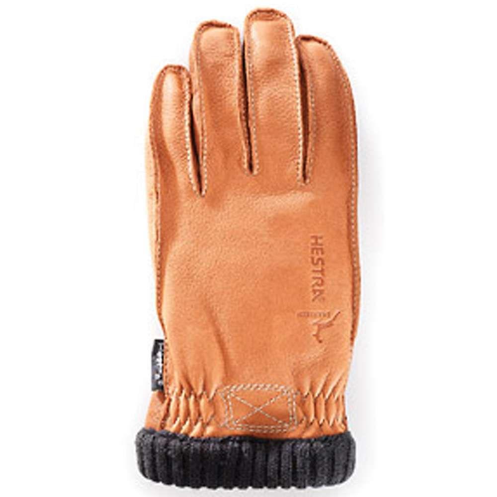 ヘスタ Hestra メンズ スキー・スノーボード グローブ【Deerskin Primaloft Ribbed Glove】Cork