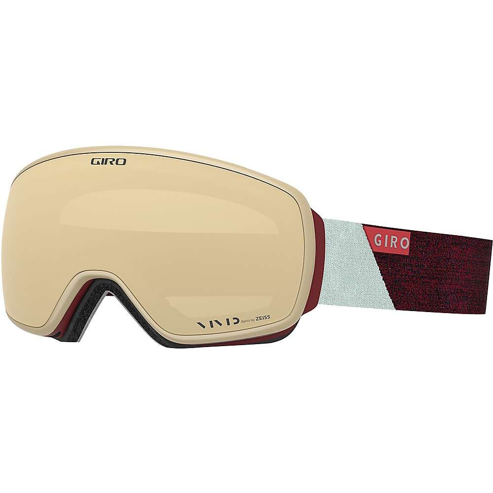 ジロ Giro レディース スキー・スノーボード ゴーグル【Eave Goggle】Scarlet/Grey Peak/Vivid Copper/Vivid Infrared