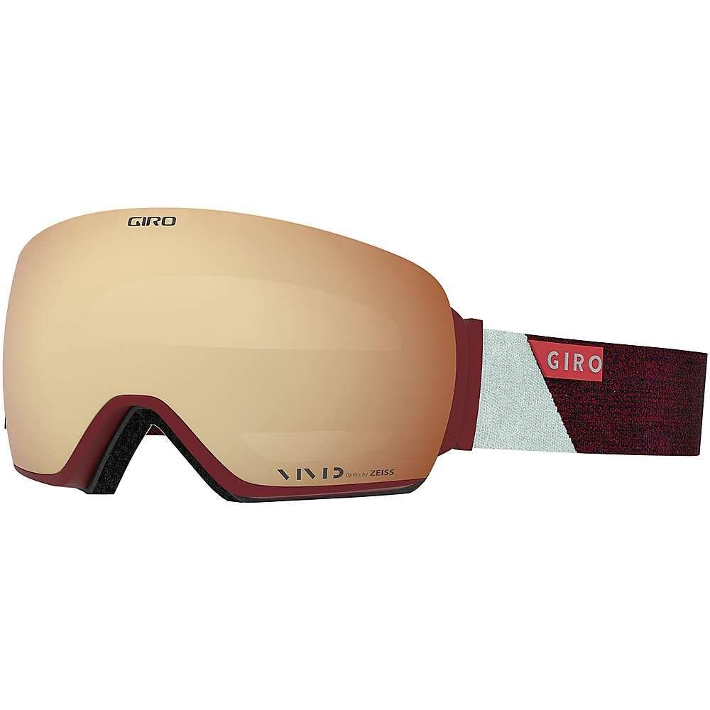 ジロ Giro レディース スキー・スノーボード ゴーグル【Lusi Goggle】Scarlet/Grey Peak/Vivid Copper/Vivid Infrared