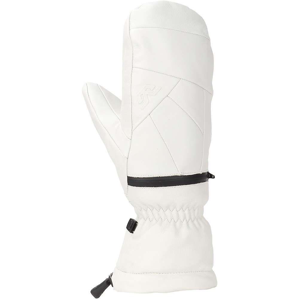 ゴルディーニ Gordini レディース スキー・スノーボード ミトン グローブ【Leather Goose IV Mitt】White