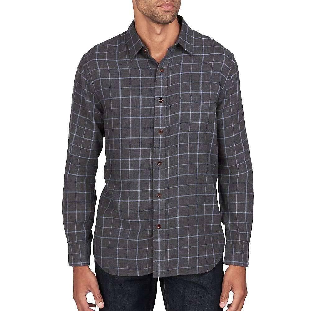 ファレティ Faherty メンズ シャツ トップス【Ventura Long Sleeve Shirt】Blue Melange Windowpane