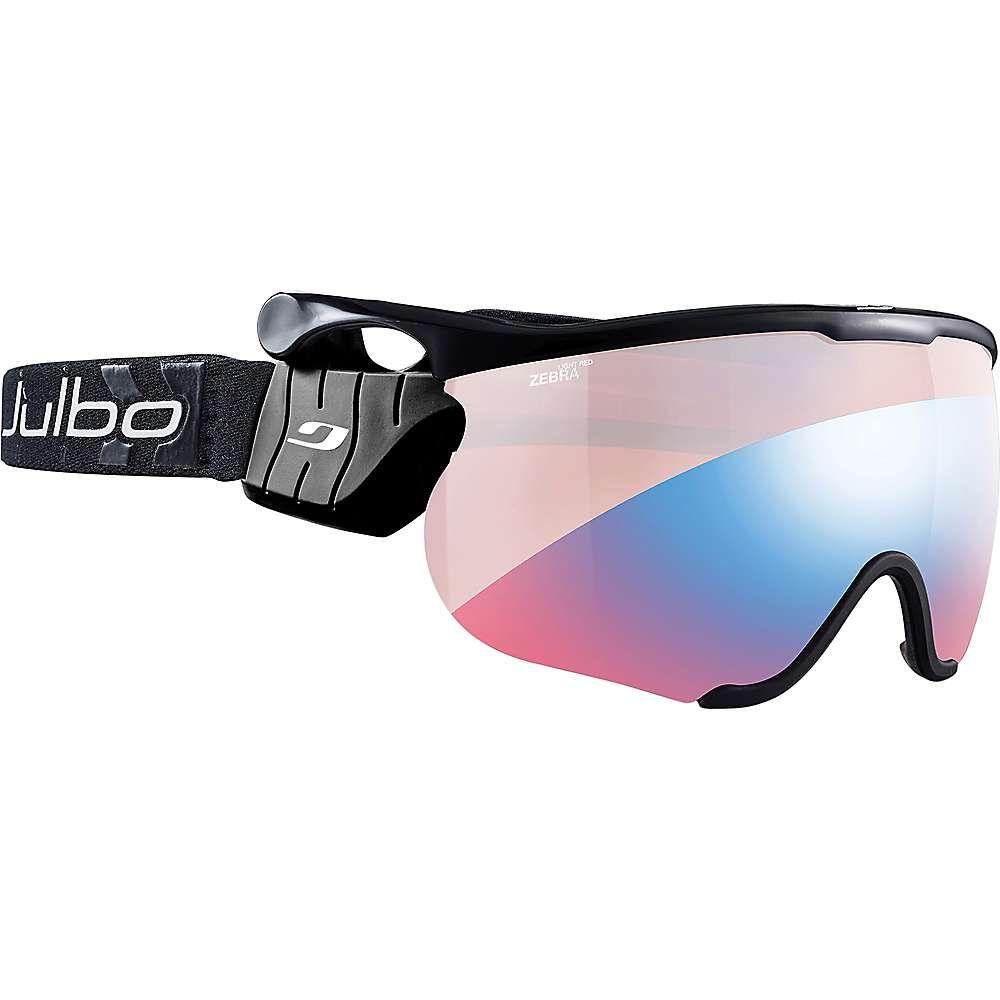ジュルボ Julbo メンズ スキー・スノーボード ゴーグル【Sniper L Goggles】Black/Black/Zebra Light Red/Reactiv Performance
