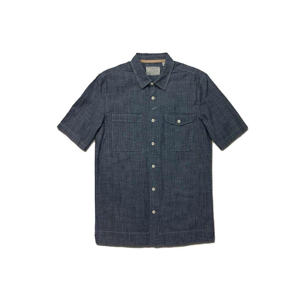 ジェレミア Jeremiah メンズ ハイキング・登山 シャンブレーシャツ トップス【Merrick Printed Chambray Shirt】Victoria