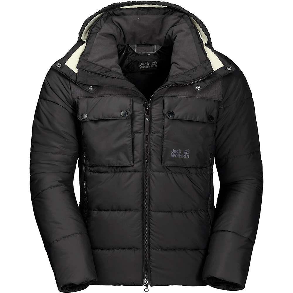 ジャックウルフスキン Jack Wolfskin メンズ スキー・スノーボード ジャケット アウター【High Range Jacket】Black