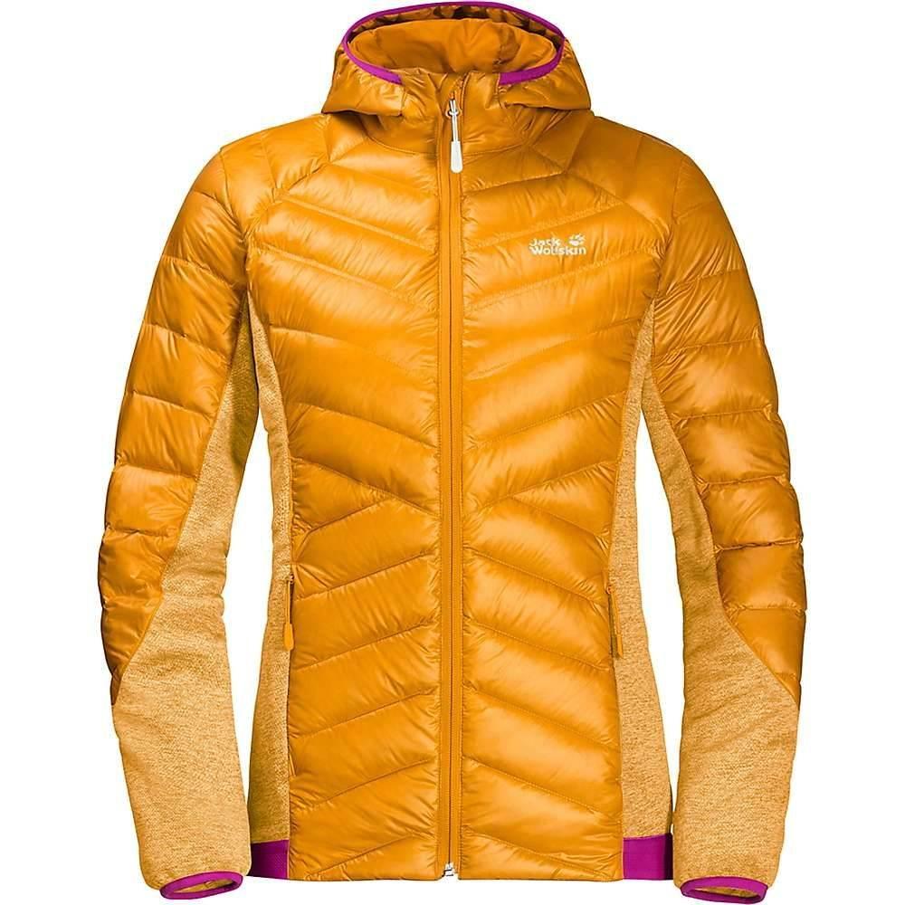 ジャックウルフスキン Jack Wolfskin レディース スキー・スノーボード ジャケット アウター【Stratosphere Jacket】Citrine Yellow