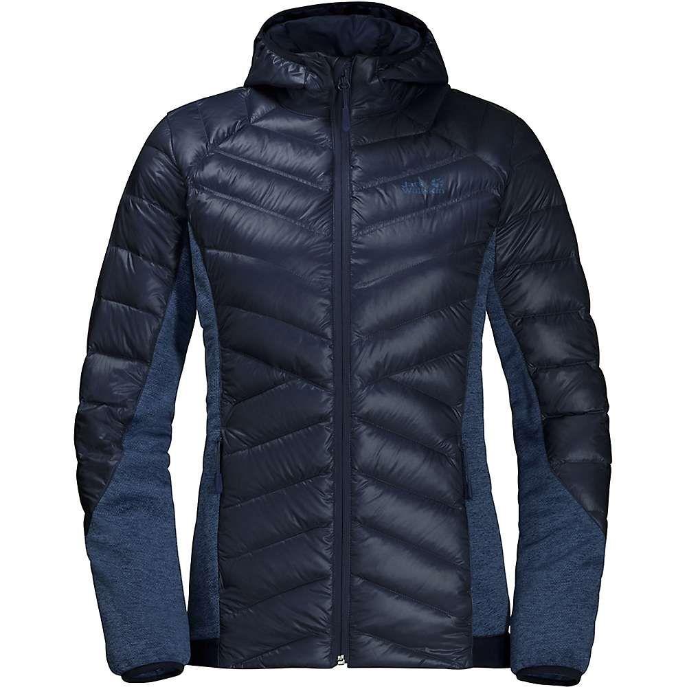 ジャックウルフスキン Jack Wolfskin レディース スキー・スノーボード ジャケット アウター【Stratosphere Jacket】Midnight Blue