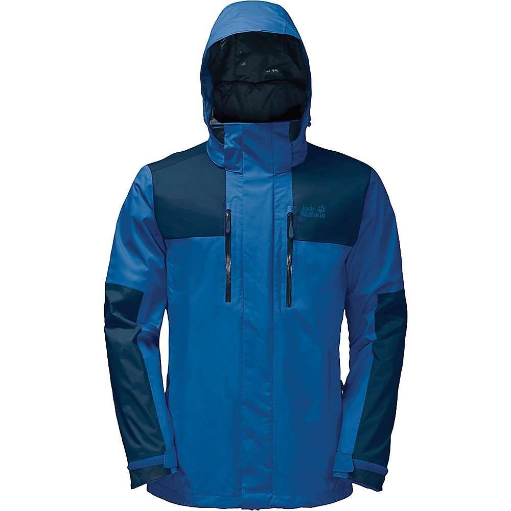 ジャックウルフスキン Jack Wolfskin メンズ スキー・スノーボード ジャケット アウター【Jasper Flex Jacket】Electric Blue