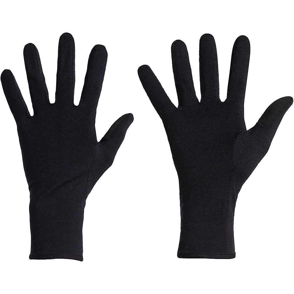 アイスブレーカー Icebreaker ユニセックス スキー・スノーボード グローブ【260 Tech Glove Liner】Black