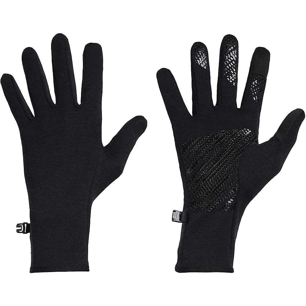 アイスブレーカー Icebreaker ユニセックス スキー・スノーボード グローブ【Quantum Gloves】Black