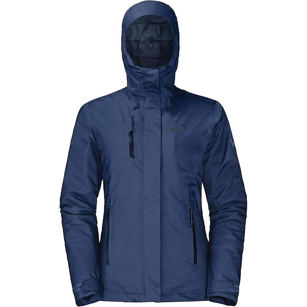 ジャックウルフスキン Jack Wolfskin レディース スキー・スノーボード ジャケット アウター【Troposphere Jacket】Porcelain Blue