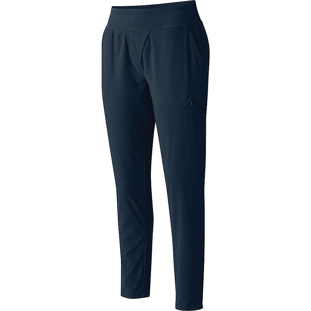 マウンテンハードウェア Mountain Hardwear レディース ハイキング・登山 クロップド ボトムス・パンツ【Dynama Ankle Pant】Dark Zinc