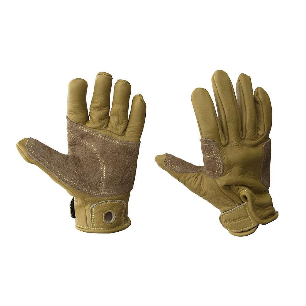 メトリウス Metolius メンズ クライミング フルフィンガー グローブ【Full Finger Belay Glove】Natural