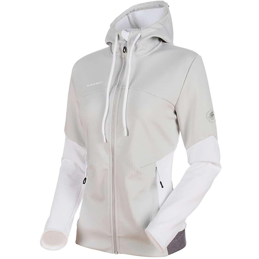 マムート Mammut レディース スキー・スノーボード ジャケット アウター【Alnasca ML Hooded Jacket】Marble/White/White