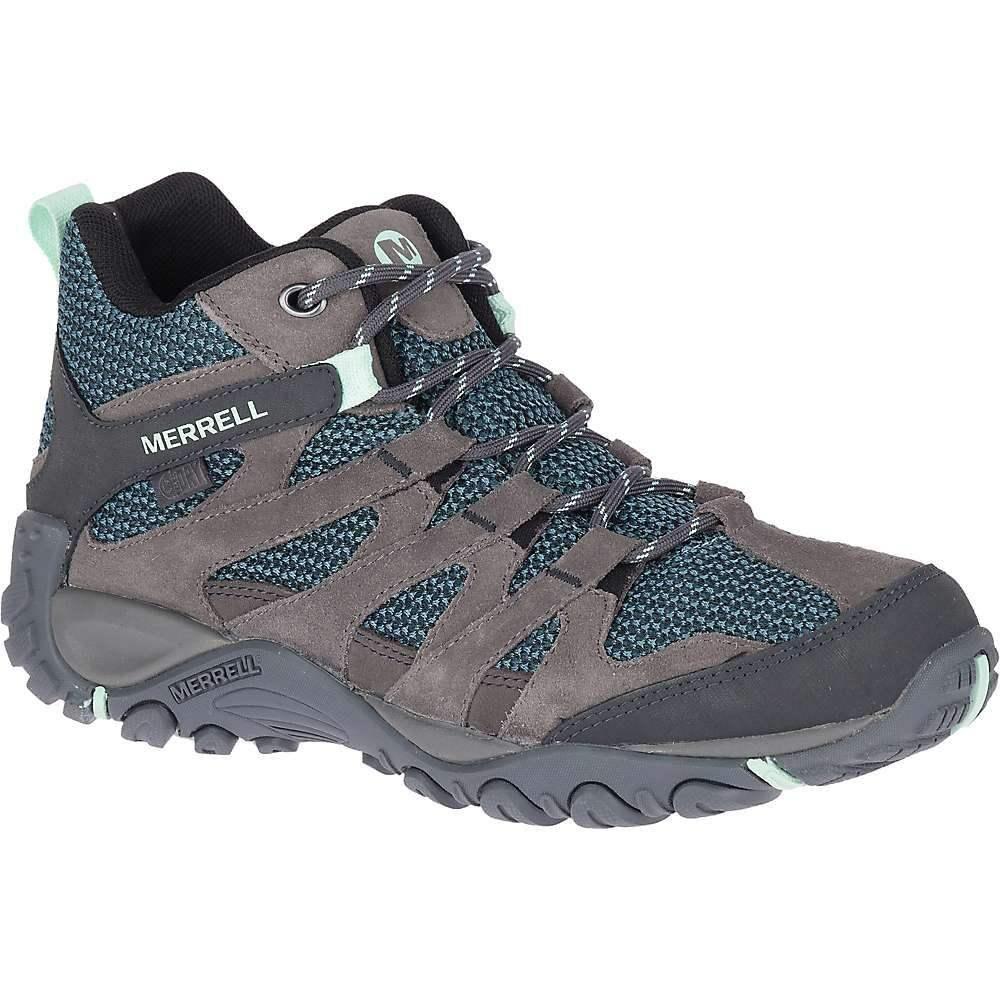 メレル Merrell レディース ハイキング・登山 ブーツ シューズ・靴【Alverstone Mid Waterproof Boot】Charcoal
