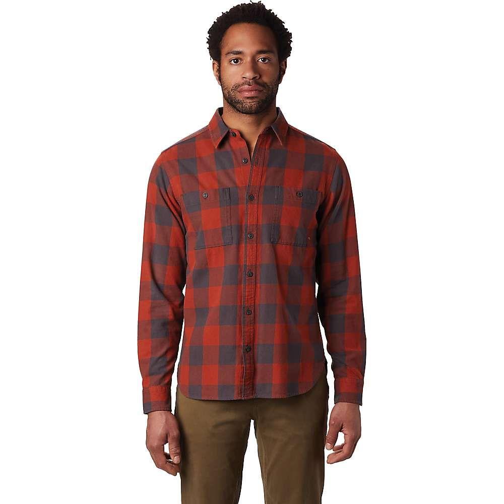 マウンテンハードウェア Mountain Hardwear メンズ ハイキング・登山 シャツ トップス【Catalyst Edge LS Shirt】Rusted