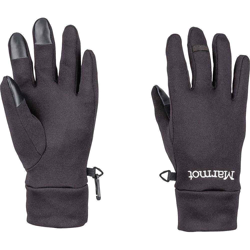 マーモット Marmot レディース スキー・スノーボード グローブ【Power Stretch Connect Glove】Black