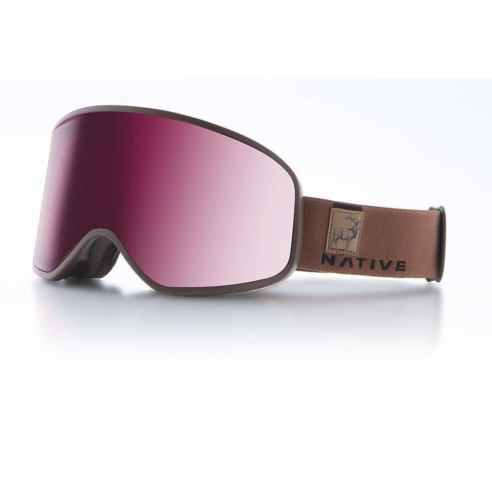 ネイティブ Native ユニセックス スキー・スノーボード ゴーグル【Tenmile Polarized Goggle】Exposure/SnowTuned Silver