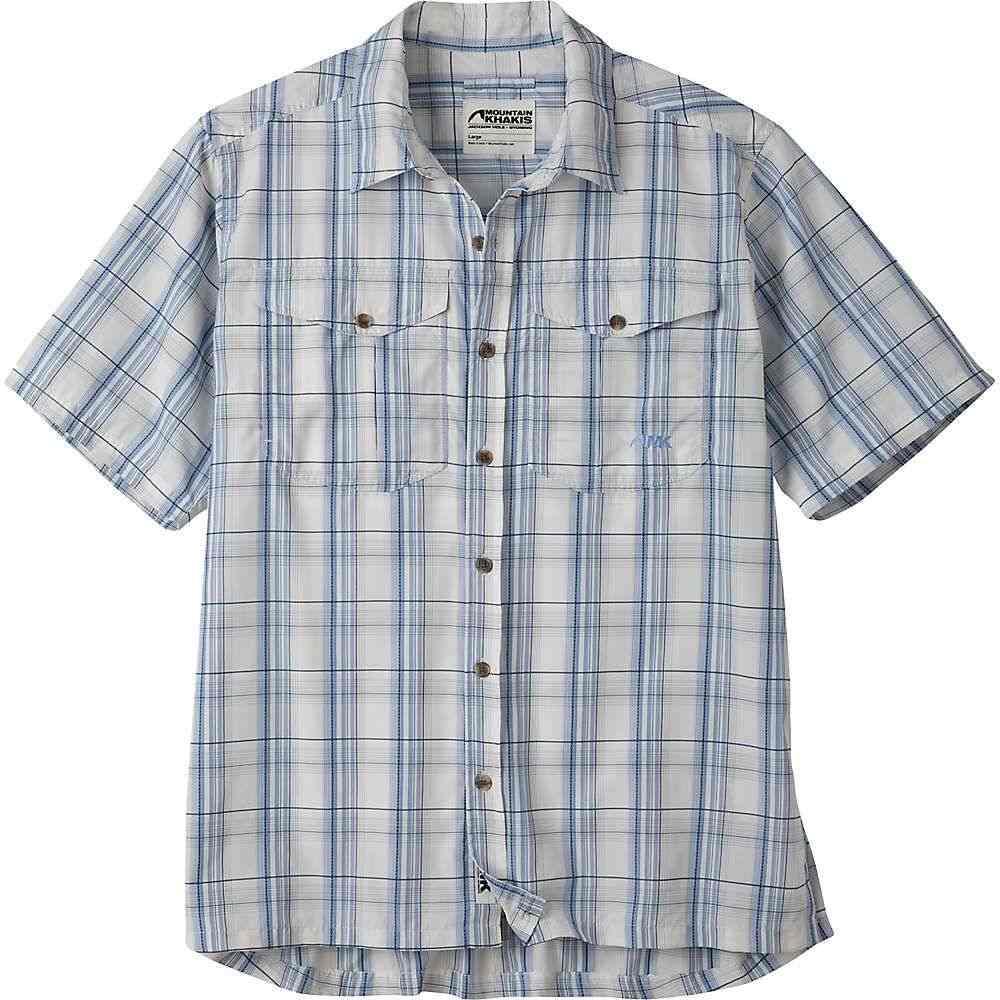 マウンテンカーキス Mountain Khakis メンズ ハイキング・登山 半袖シャツ トップス【Equatorial SS Shirt】Calypso