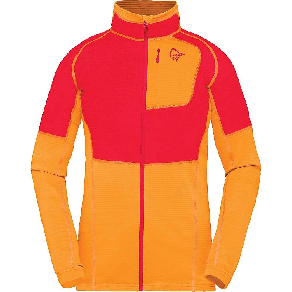ノローナ Norrona レディース スキー・スノーボード ジャケット アウター【Lyngen Alpha90 Jacket】Orange Crush