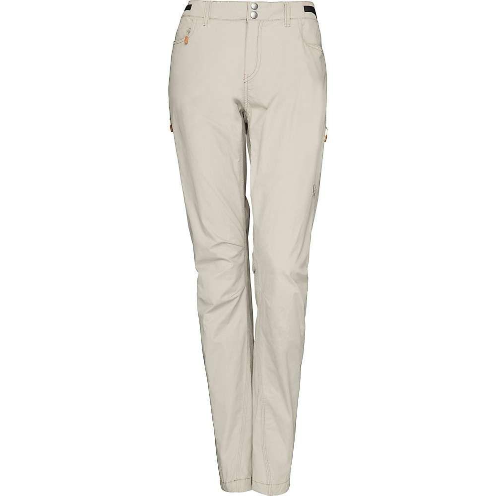 ノローナ Norrona レディース ハイキング・登山 ボトムス・パンツ【Svalbard Light Cotton Pant】Sandstone