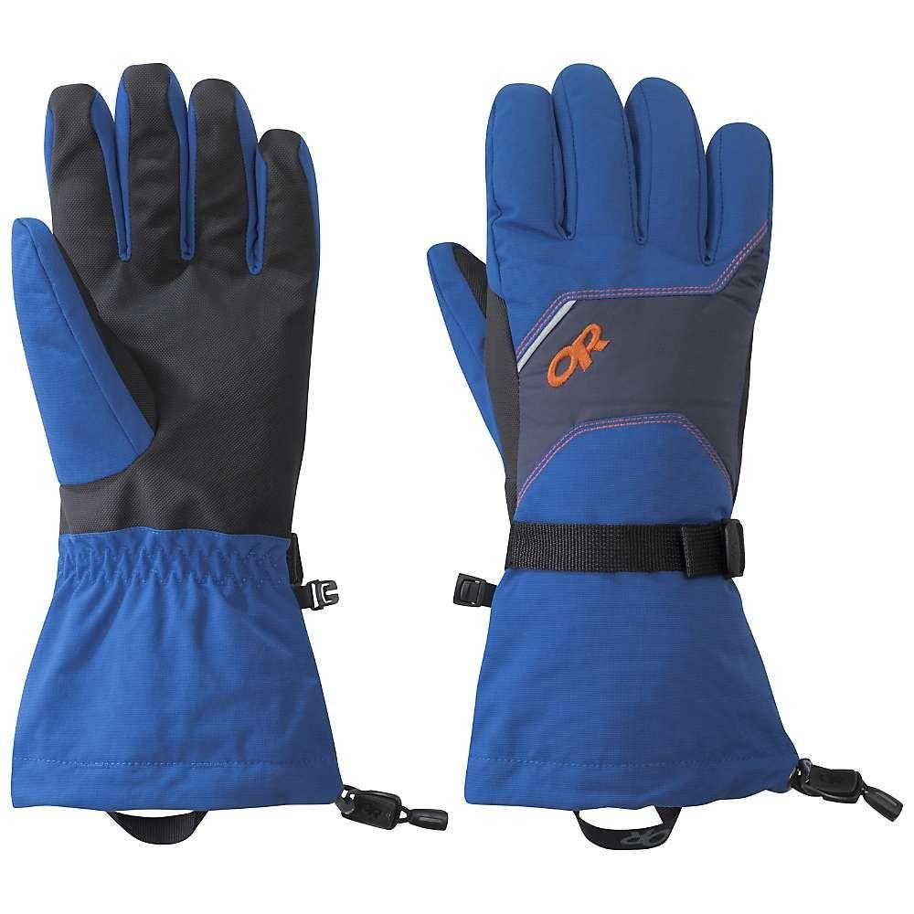 アウトドアリサーチ Outdoor Research メンズ スキー・スノーボード グローブ【Adrenaline Gloves】Cobalt/Naval Blue/Burnt Orange