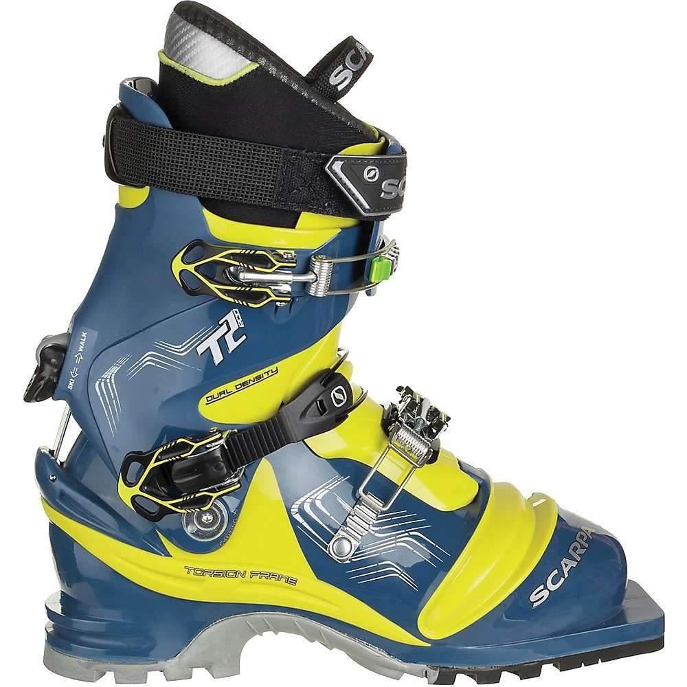 スカルパ Scarpa メンズ スキー・スノーボード ブーツ シューズ・靴【T2 Eco Boot】True Blue/Acid Green