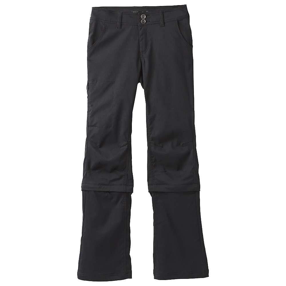 プラーナ Prana レディース ハイキング・登山 ボトムス・パンツ【Halle Convertible Pant】Black