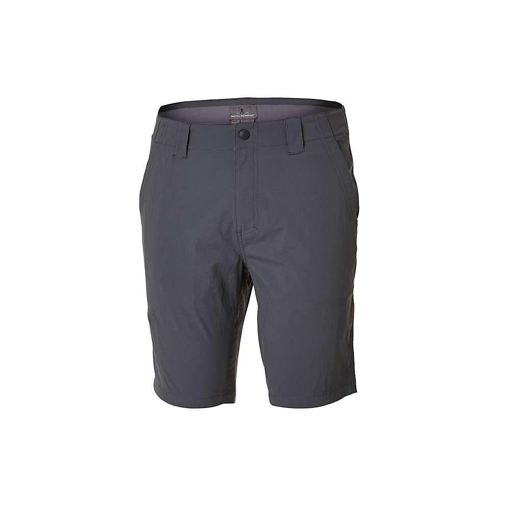 ロイヤルロビンズ Royal Robbins メンズ ハイキング・登山 ショートパンツ ボトムス・パンツ【Everyday Traveler 10 Inch Short】Asphalt