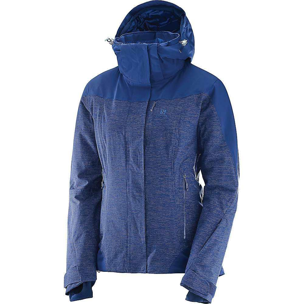サロモン Salomon レディース スキー・スノーボード ジャケット アウター【Icerocket + Jacket】Medieval Blue