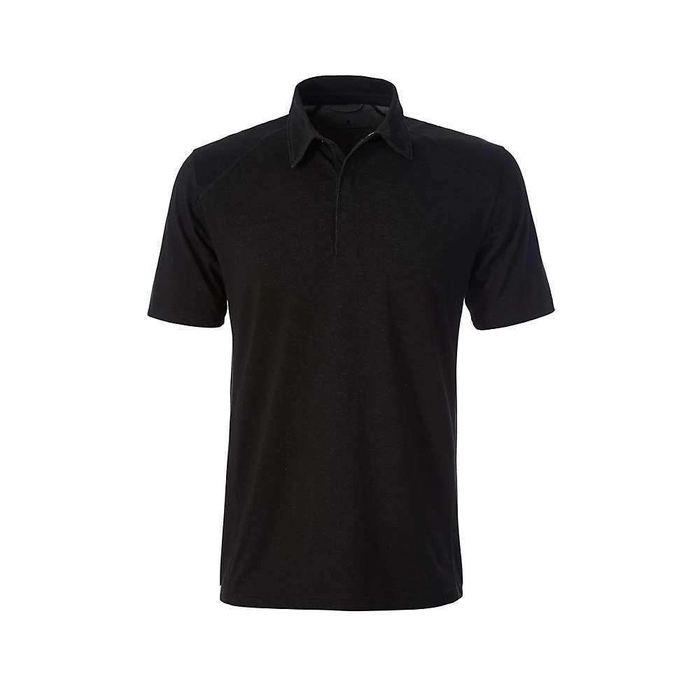 ロイヤルロビンズ Royal Robbins メンズ ハイキング・登山 ポロシャツ トップス【Travel Dry Polo】Jet Black